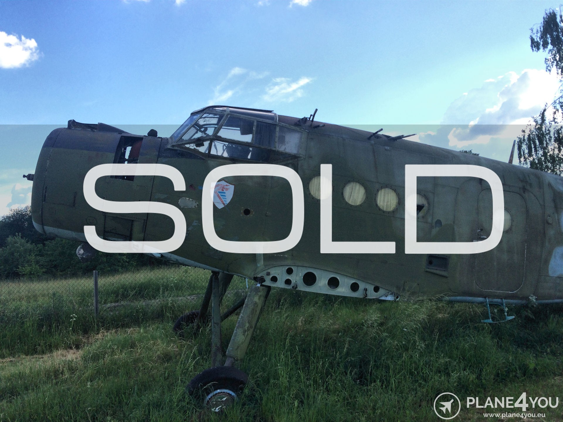 AN-2 Static display | Sold aircraft | Plane4You Aircraft