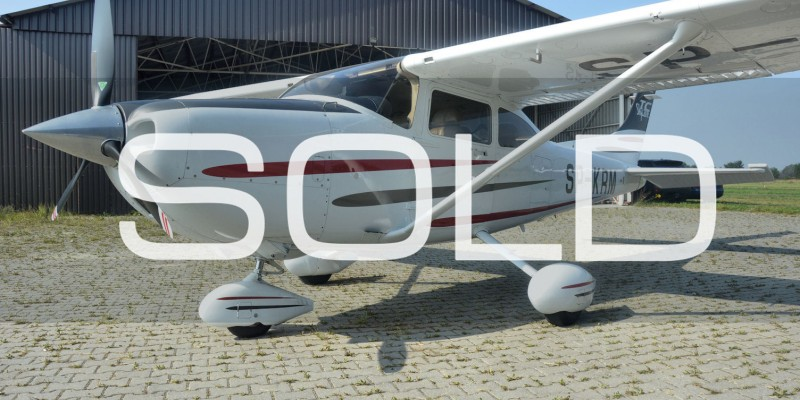 40. CESSNA 182 TURBO SKYLANE SP-KRM