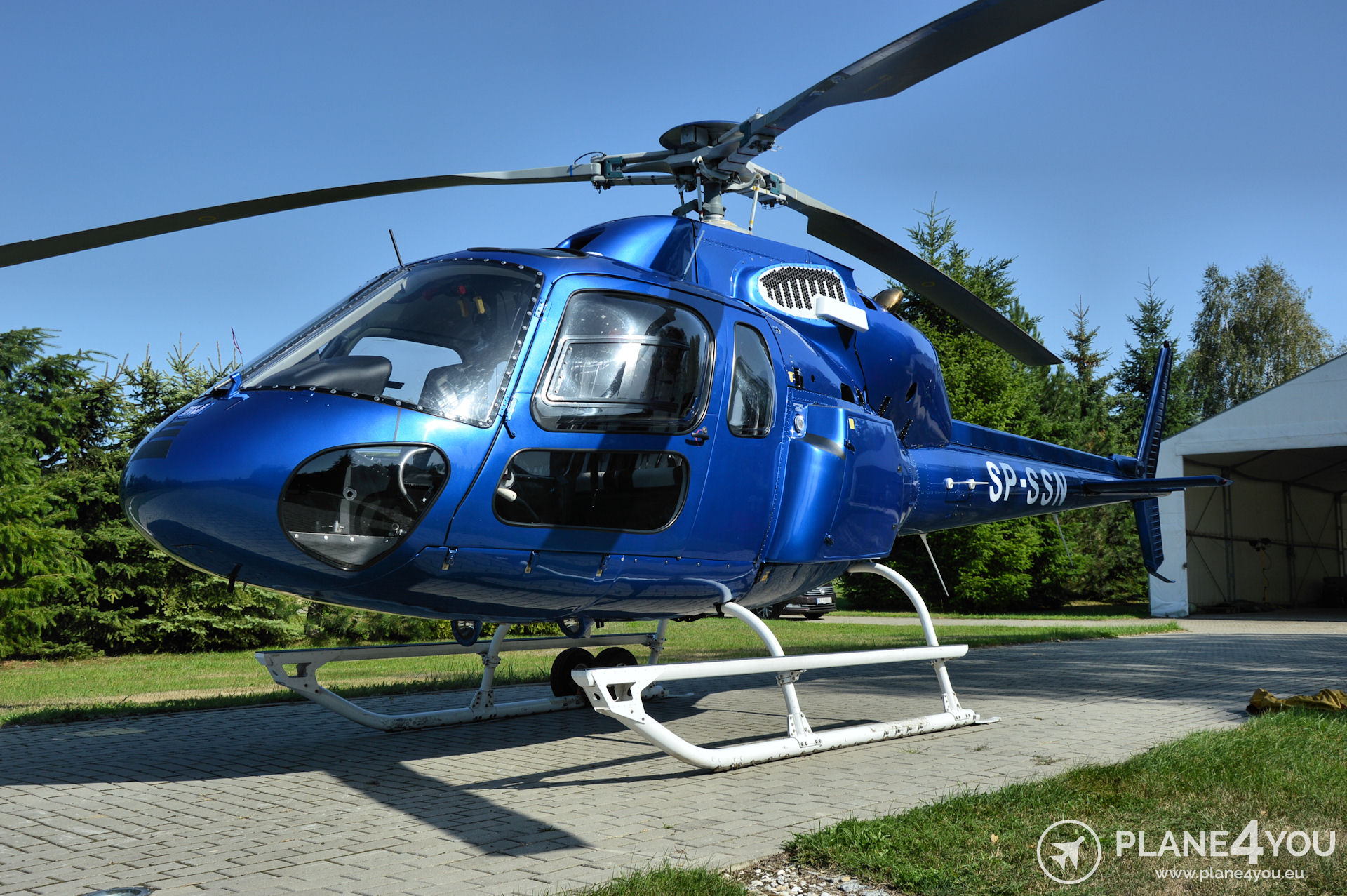 EUROCOPTER AS355 SP-SSN | Helicopters | Plane4You Aircraft