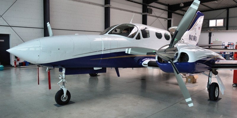 Cessna 421C Golden Eagle N421MU