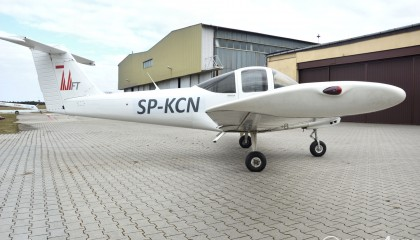Piper PA38 Tomahawk SP-KCN   Single-engine aircraft
