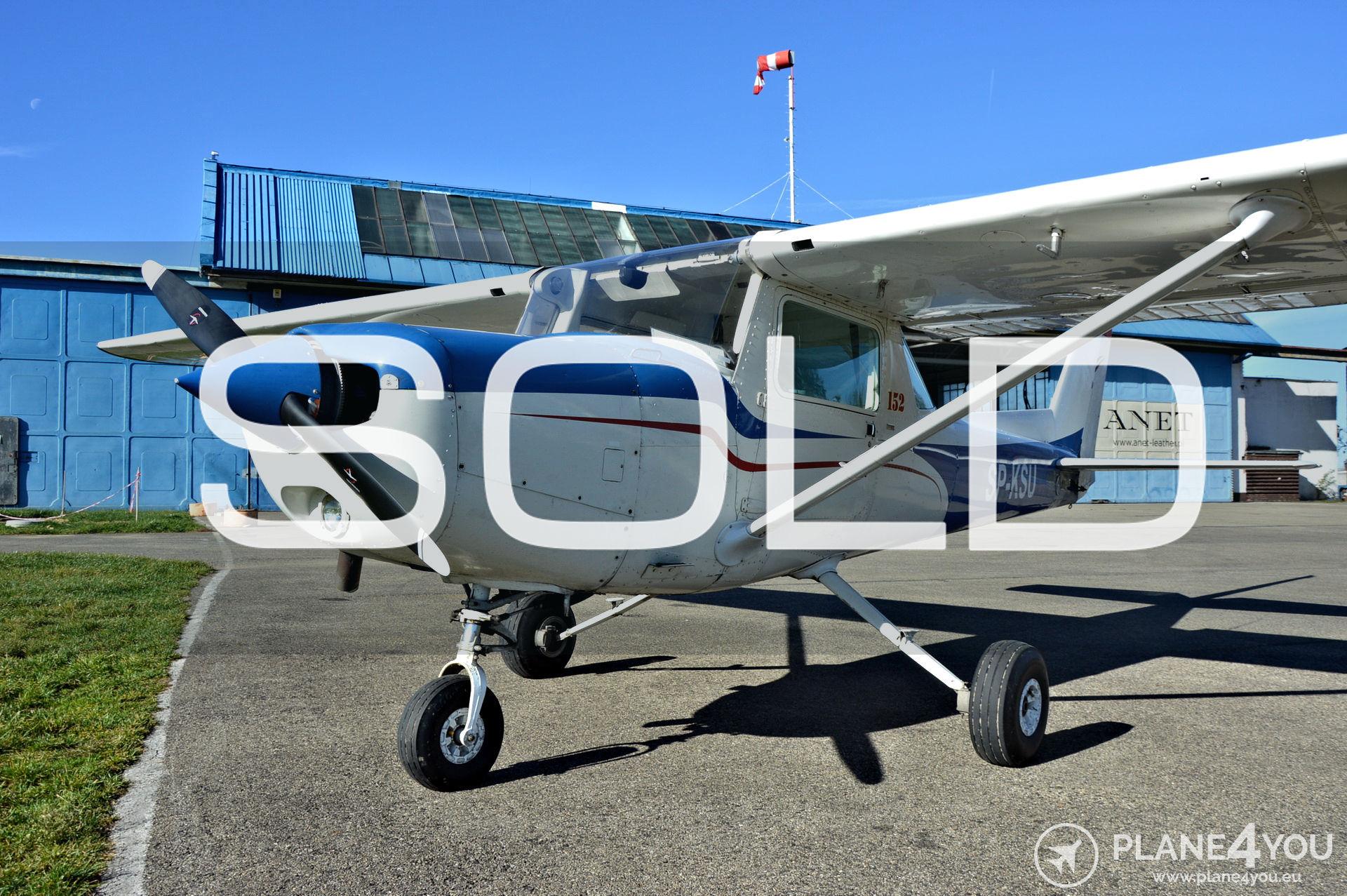 129  Cessna 152 SP-KSU | Sold aircraft | Plane4You Aircraft