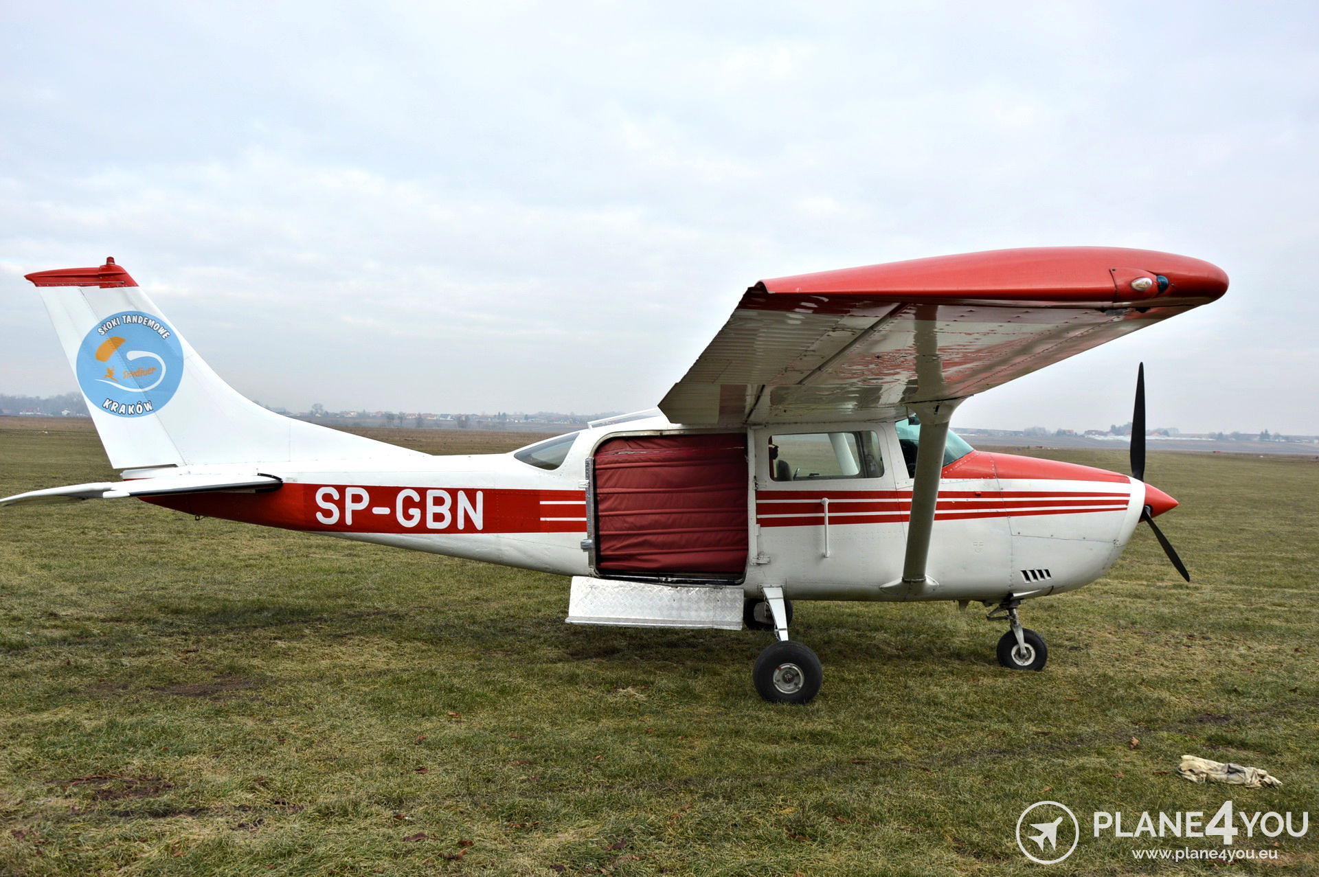 Cessna U206F SP-GBN | Single-engine aircraft | Plane4You Aircraft