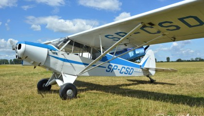 Piper PA18-150 Super Cub SP-CSD