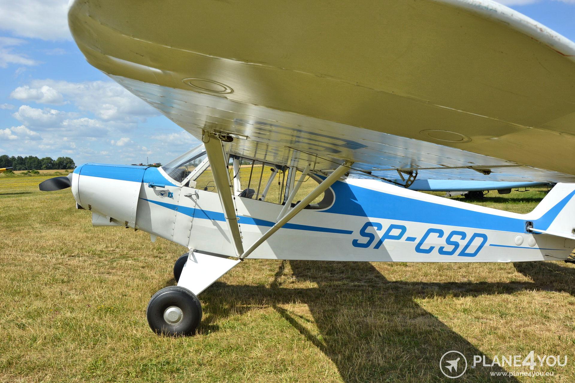 Piper PA18-150 Super Cub SP-CSD | Single-engine aircraft