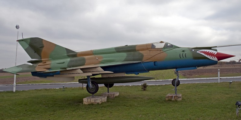 MIG-21 Static display